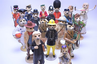 Lot 151 - Assorted Compare the Market Meerkat figurines.
