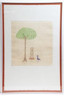 Lot 259 - Keiko Minami - etching.