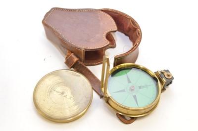 Lot 295 - Elliott pocket compass