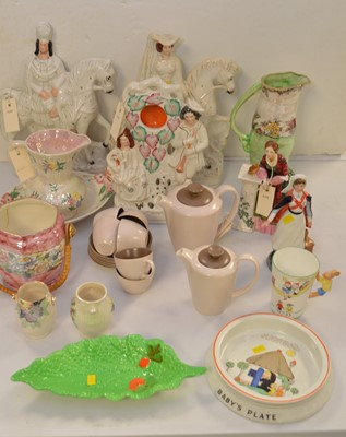 Lot 355 - Ceramic figurines and other items