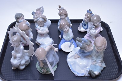 Lot 213 - Eleven Nao figurines.