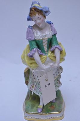 Lot 227 - Minton figurine