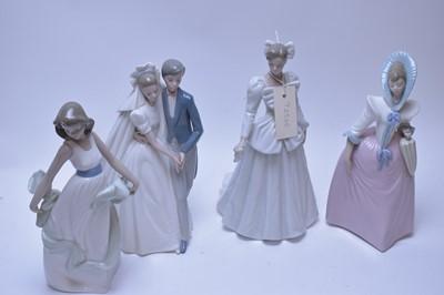 Lot 232 - Four Nao figurines.