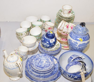 Lot 362 - Part tea and coffee sets, and other items.