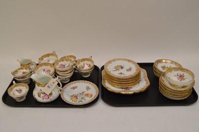 Lot 381 - Hammersley & Co., Dresden tea china.
