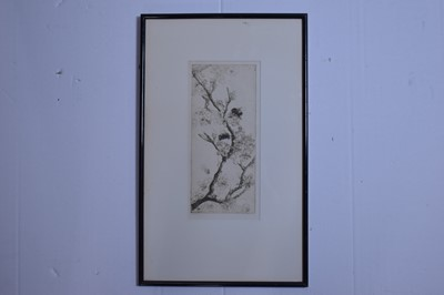 Lot 575 - Katherine Cameron - etching.