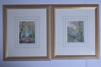 Lot 599 - Hilary Scoffield - watercolours.