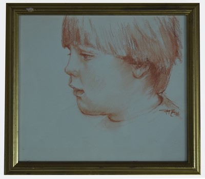 Lot 213 - Attributed to Tom McGuinness - watercolour.