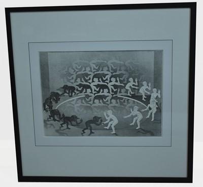 Lot 149 - M* C* Escher - print.
