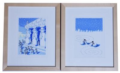 Lot 181 - Chris Vine - prints.
