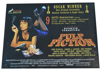 Lot 140 - Movie Poster - Pulp Fiction.