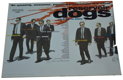 """Lot 1290A - Movie poster for """"Reservoir Dogs"""""""
