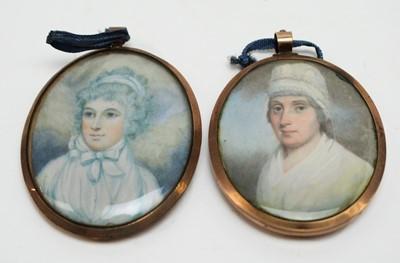 Lot 271 - British School, 19th Century - miniatures