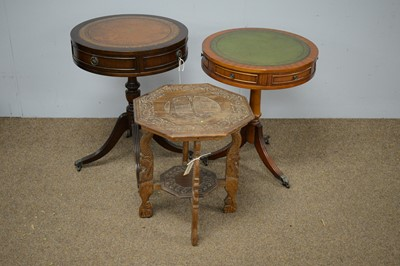 Lot 43 - Three occasional tables.