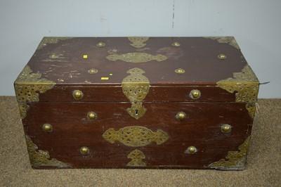 Lot 50 - Asian rectangular trunk.