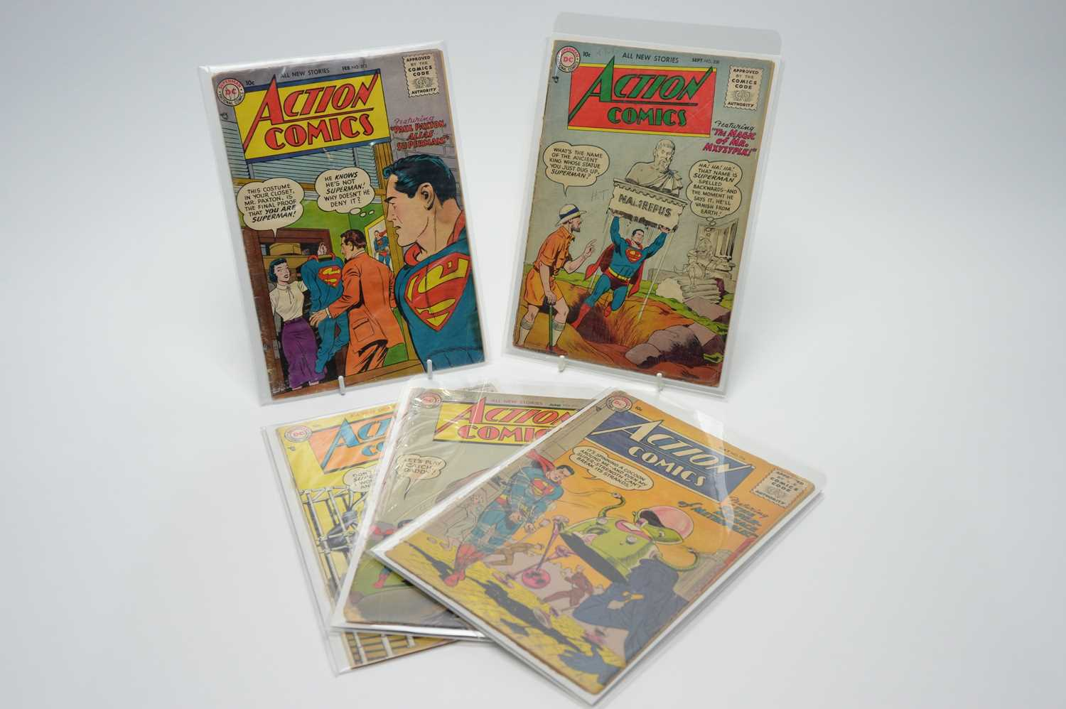 Lot 13 - Action Comics by DC.