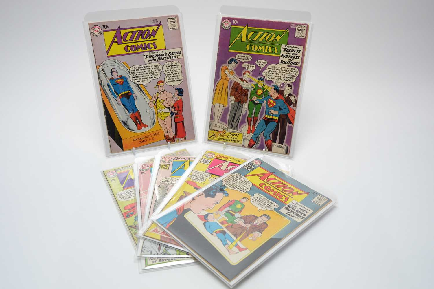 Lot 17 - Action Comics by DC.