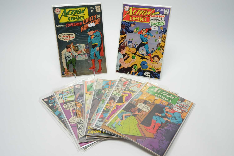 Lot 22 - Action Comics by DC.