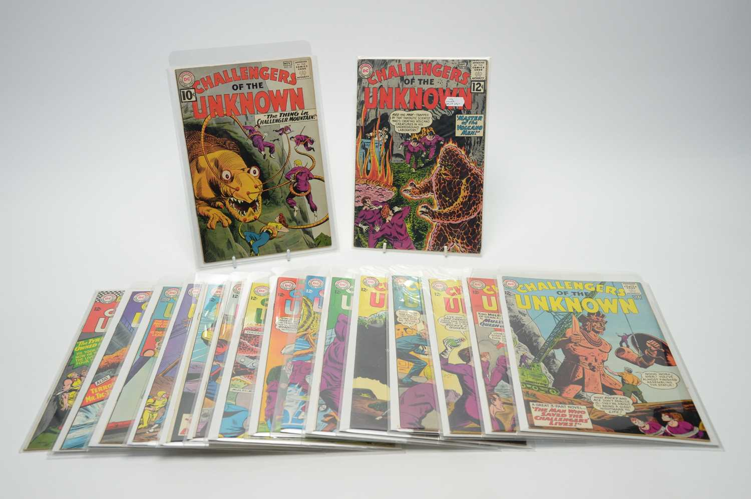 Lot 36 - Challengers of the Unknown by DC.