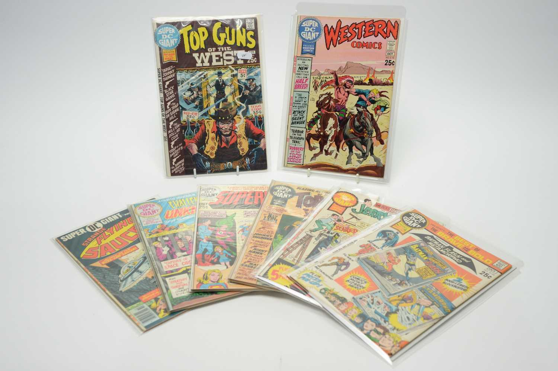 Lot 48 - Super DC Giant Comics.