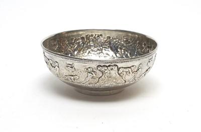 Lot 201 - Ilias Lalaounis: a Greek 925 standard silver bowl.