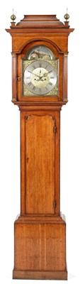 Lot 756 - James Berry, Pontefract - An eight day oak longcase clock