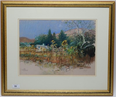 Lot 59 - Walter Holmes - pastel.