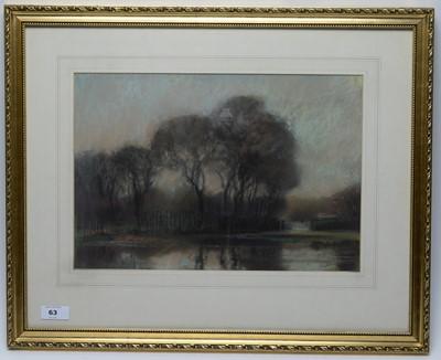 Lot 63 - Walter Holmes - pastel.