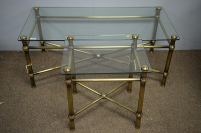 Lot 204 - Two modern coffee tables.