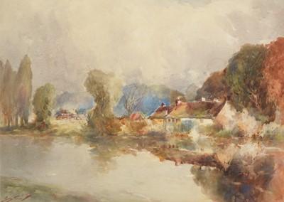 Lot 253 - George Edward Horton - watercolour.