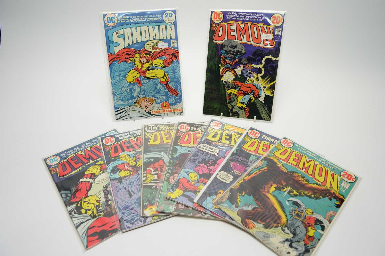 Lot 89 - The Sandman and The Demon by DC.
