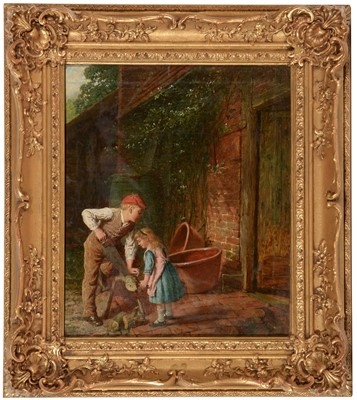 Lot 345 - George Smith - oil.