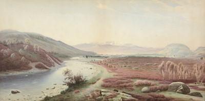 Lot 318 - John Hay - watercolour.
