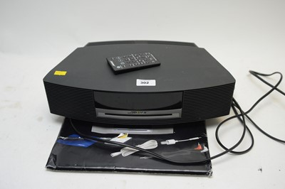 Lot 302 - A Bose CD player wave music system.