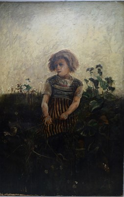 Lot 84 - After Hector Caffieri - oil.