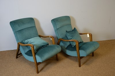 Lot 151 - Victor Wilkins for G-Plan: Pair of Siesta Model 411 armchairs.