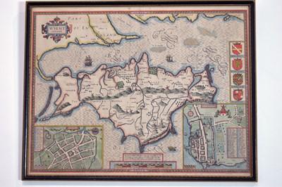 Lot 363 - John Speed - map.