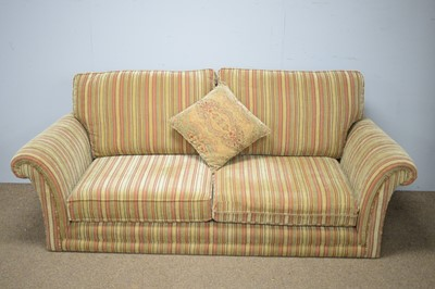 Lot 57 - 20th C Parker Knoll two-seater sofa.
