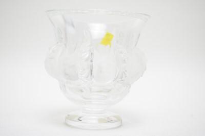 Lot 398 - Modern Lalique vase.