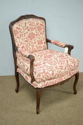Lot 3 - Stewart Jones French style armchair.