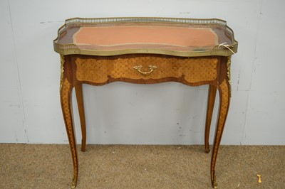 Lot 13 - A reproduction French lady's writing desk.