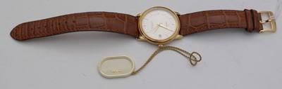 Lot 121 - Gold cased Omega Automatic Chronometer