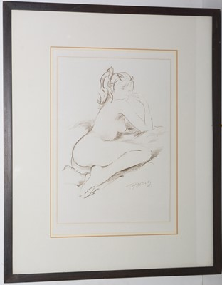 Lot 281 - Terry McArdle -watercolour.