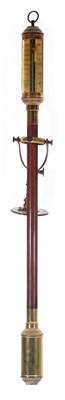 Lot 772 - Repro. marine style stick barometer.