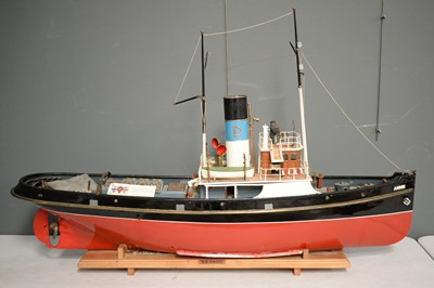 Lot 861 - Scale model of the Tyne tug boat Annie.