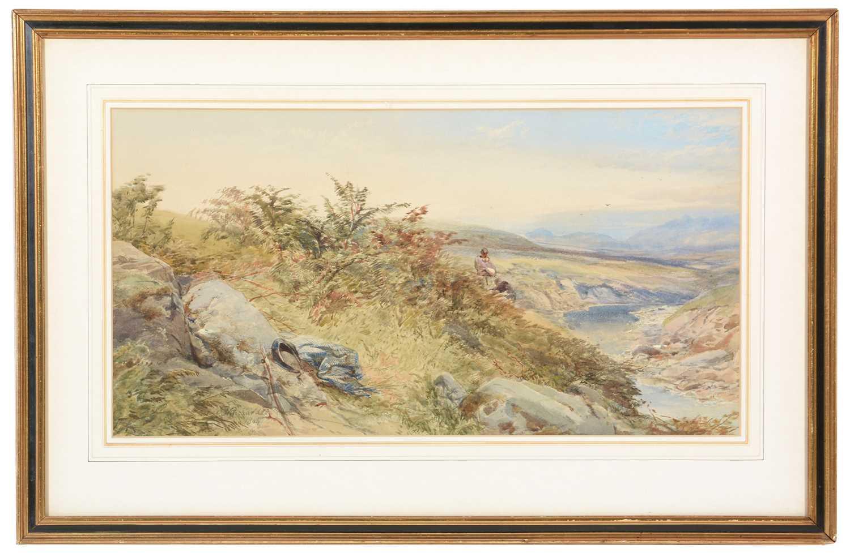 Lot 246 - Thomas Miles Richardson, jnr. - watercolour.
