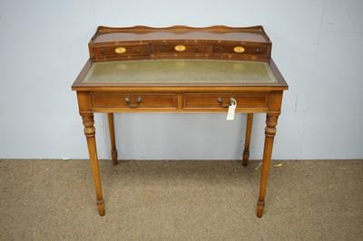 Lot 92 - Edwardian style lady's writing desk.