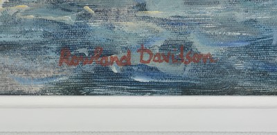 Lot 369 - Rowland Davidson - oil.
