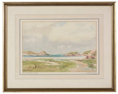 Lot 951 - Frank McKelvey - watercolour.
