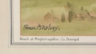 Lot 315 - Frank McKelvey - watercolour.